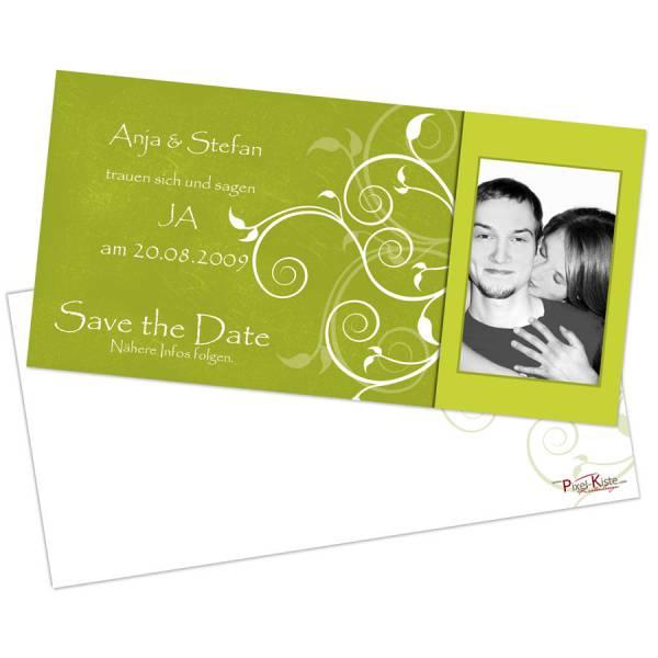 Save The Date Hochzeitskarten Mit Foto Gestalten Lassen