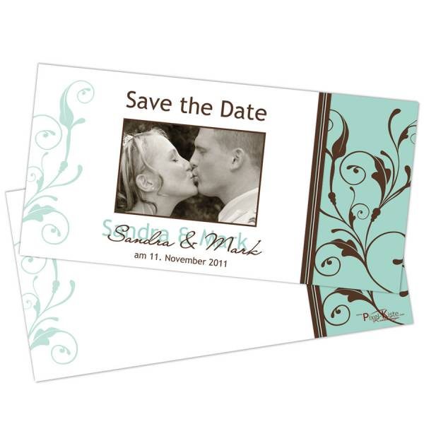 Save-the-Date Karten individuell