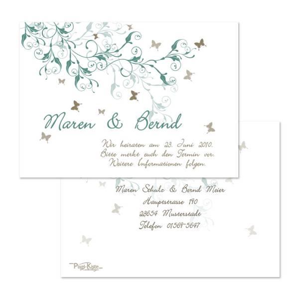 Save-the-Date Hochzeitskarten