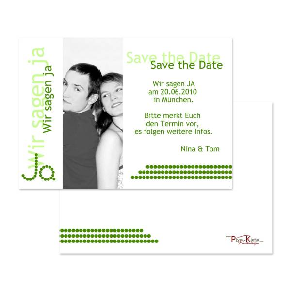 Save-the-Date-Karten drucken