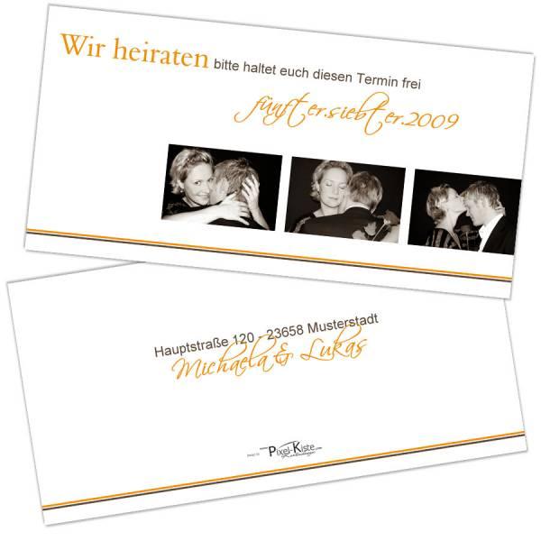 Einladungskarten Polterabend