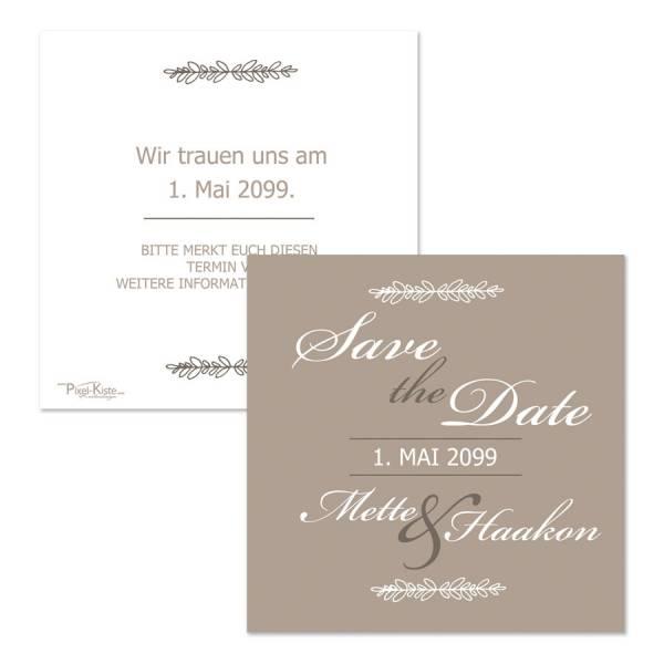 Save-the-Date-Karten zur Hochzeit