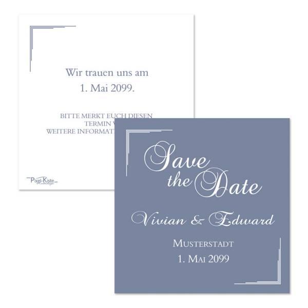 Save-the-Date-Karten zur Hochzeit Hochzeitspapeterie
