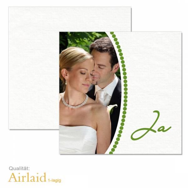 Servietten zur Hochzeit bedrucken Airlaid