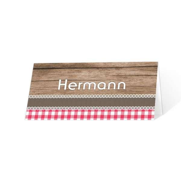 "Tischkarten Oktoberfest ""O' zapft is"""