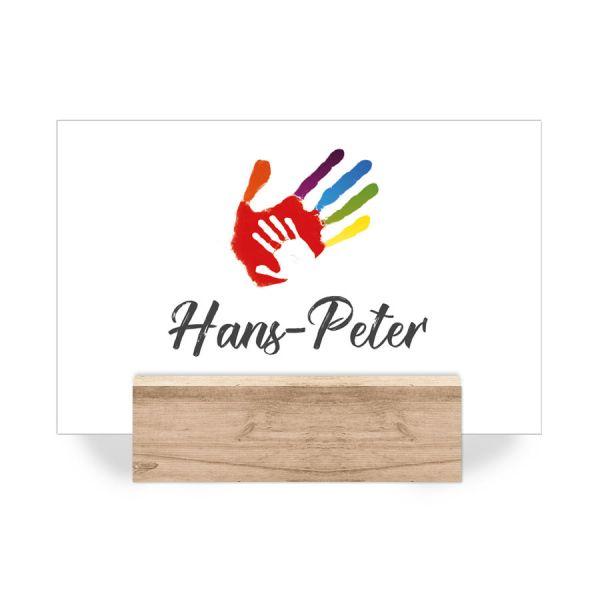 """Tischkarten Erstkommunion """"Gottes Hand"""""""