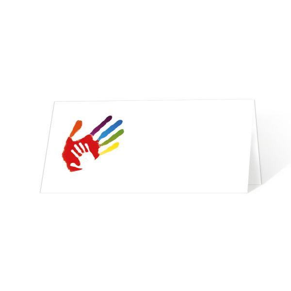 """Tischkarten """"Gottes Hand"""" zur Kommunion online bestellen"""