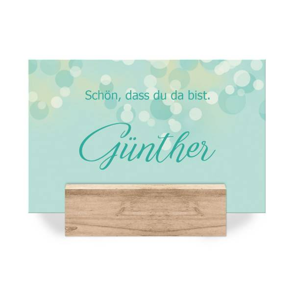 """Tischkarten Hochzeit """"Maxima & Alexander"""""""
