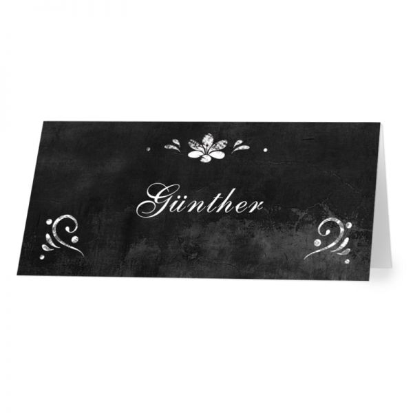 "Tischkarten Platzkarten ""Kreide/Chalk"" Konfirmation Kommunion"