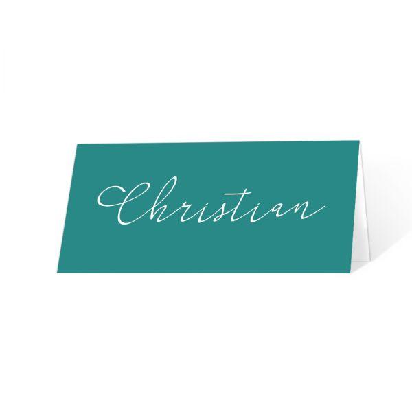 elegante Platzkarten Tischkarten Konfirmation Erstkommunion online drucken lassen