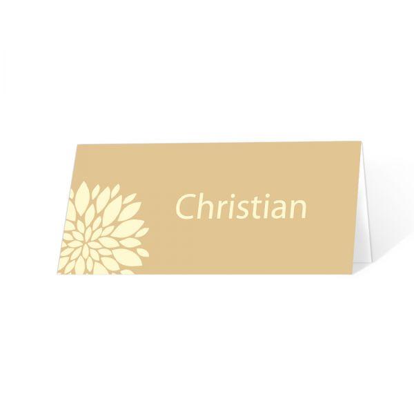 """Tischkarten Konfirmation Erstkommunion """"Flower"""" online bestellen"""