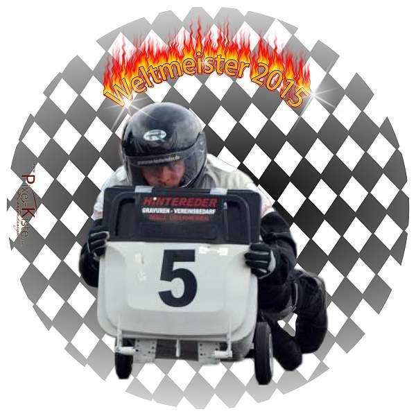 Tortenaufleger Foto Motorsport Autorennen