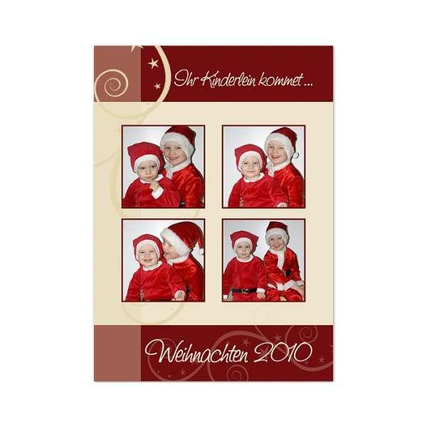 Weihnachtskarte drucken