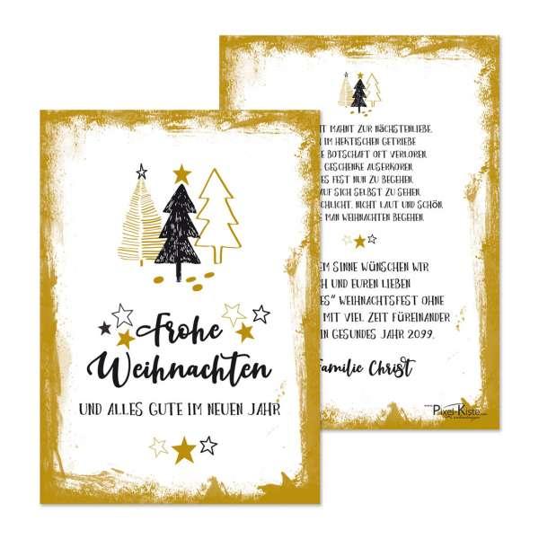 moderne Weihnachtskarten für private und geschäftliche Weihnachtsgrüße drucken lassen