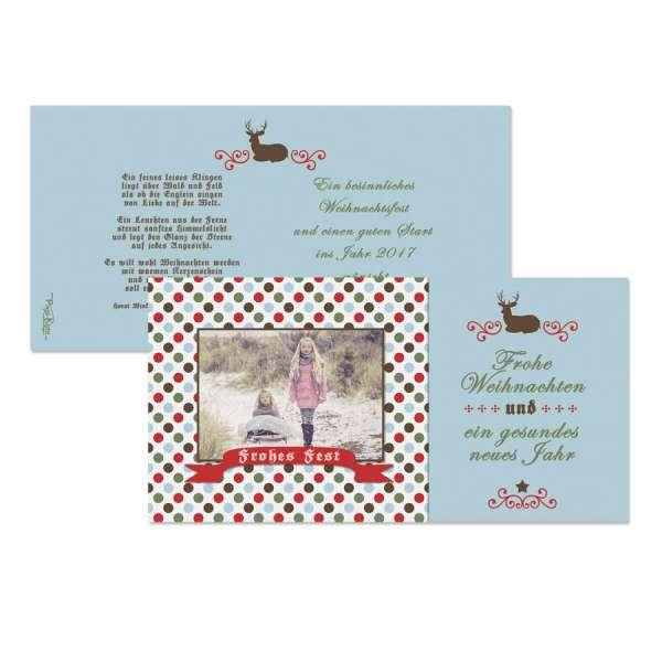 Retro Weihnachtskarten
