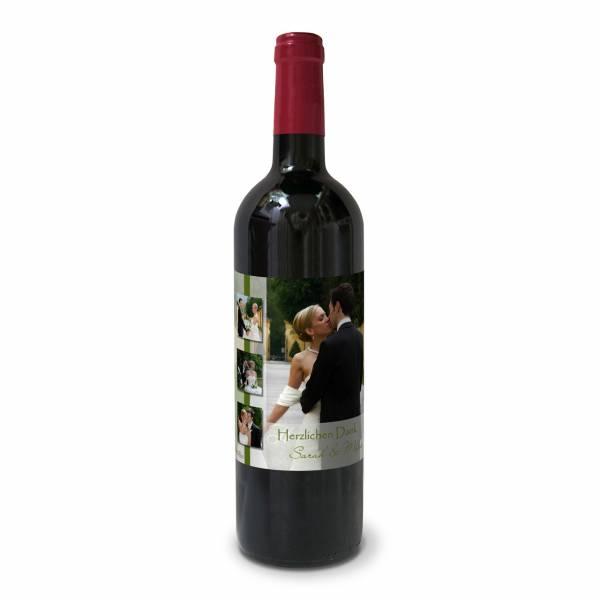 Personalisierte Weinetiketten zur Hochzeit