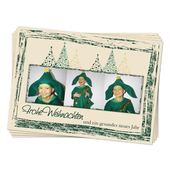 weihnachtskarten mit foto tannenbaum online bestellen. Black Bedroom Furniture Sets. Home Design Ideas