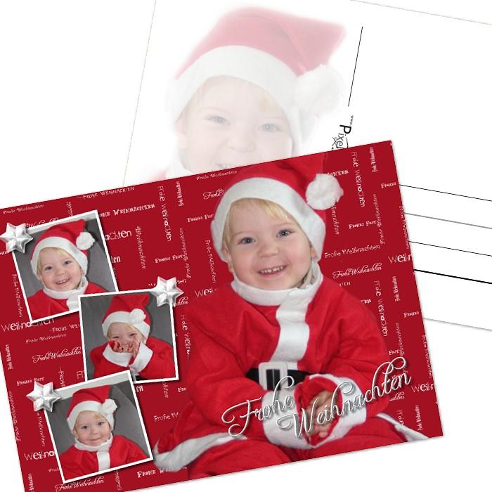 weihnachtskarten mit foto online gestalten und drucken. Black Bedroom Furniture Sets. Home Design Ideas